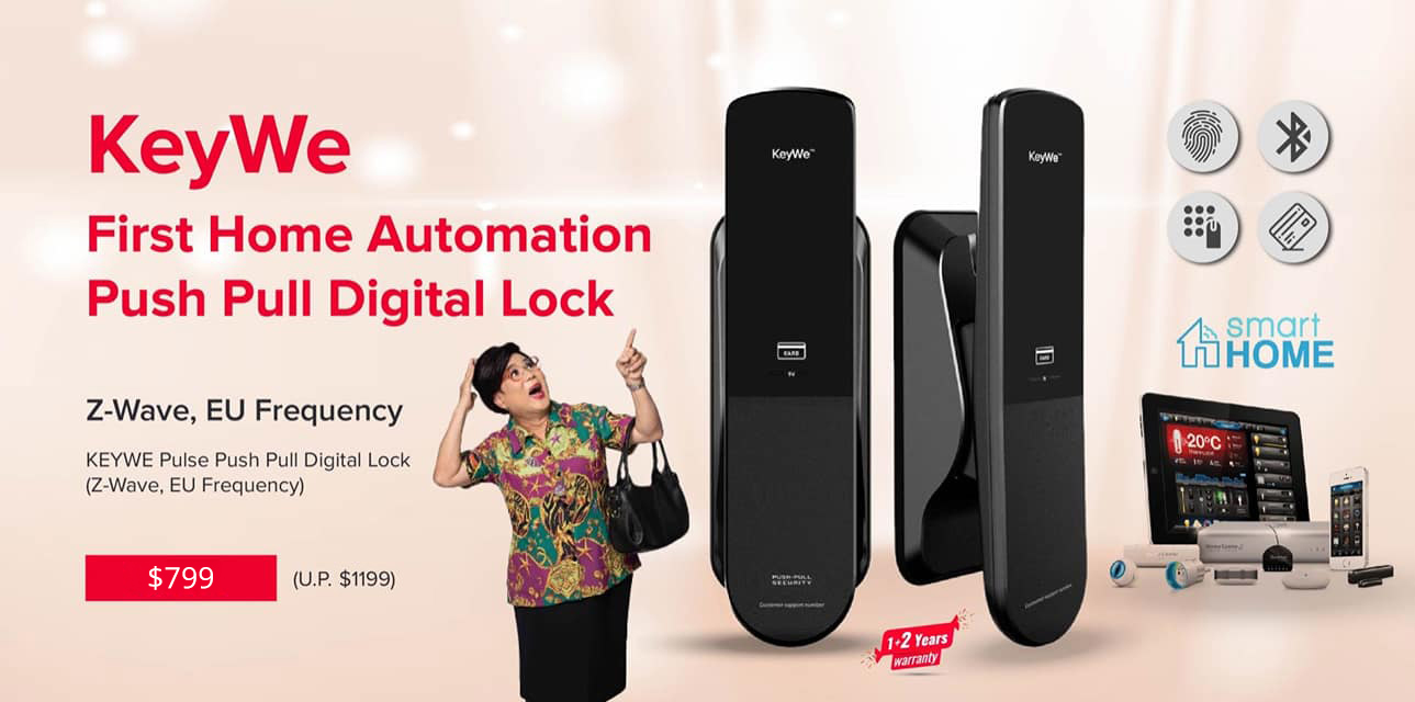 KEYWE Smartphone Digital Lock