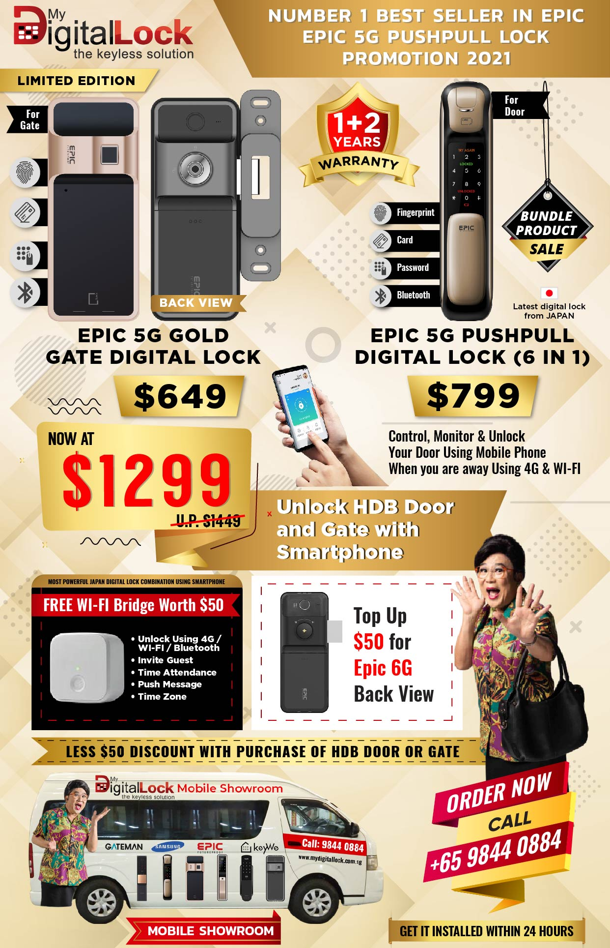 Number 1 epic Best Selling Digitallock