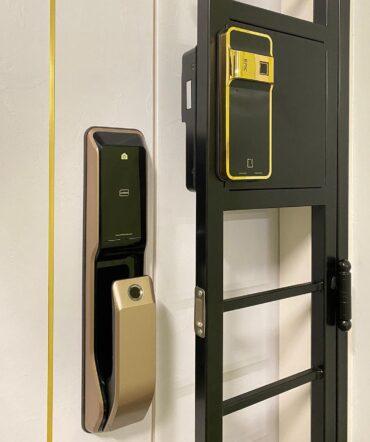 The Latest Keywe 360 Push Pull Digital Lock-3