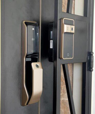 The Latest Keywe 360 Push Pull Digital Lock