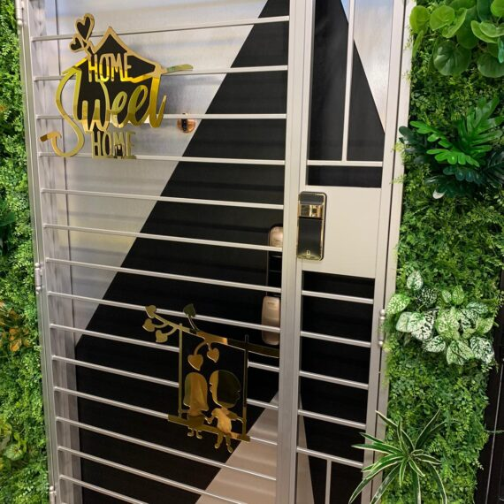 4x7 feet Kato 2k gold gate